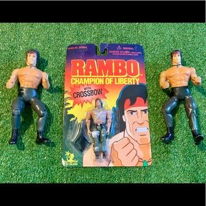 1995 Rambo Sylvester Stallone Collectors Bundle